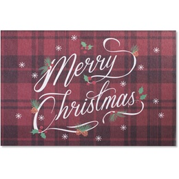 Plaid Merry Christmas Boxed Holiday Greeting Cards