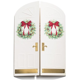 Holiday Doorway Boxed Holiday Greeting Cards