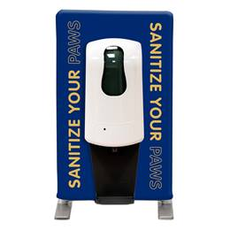 Sanitize Your Paws Tabletop Hand Sanitizing Station