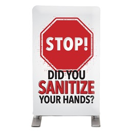 Stop! Did You Sanitize Your Hands? Tabletop Hand Sanitizing Station