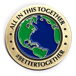 All In This Together Lapel Pin