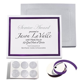 Pristine Dark Purple Certificate Bundle