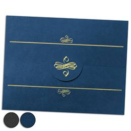 Signet Stand-Up Certificate Folders