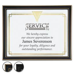 Pinstripe Diploma and Certificate Frames