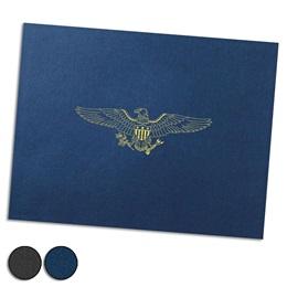 Eagle Foil-Stamped Certificate Jackets
