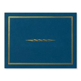 Filet Gold Foil-Stamped Certificate Jackets