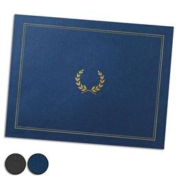 Laurel Foil-Stamped Certificate Jackets