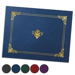 Renaissance Foil-Stamped Certificate Jackets