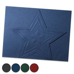 Star Stand-Up Certificate Jackets