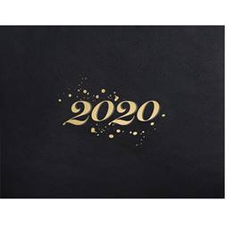 2020 Gold Foil Specialty Certificate Jackets