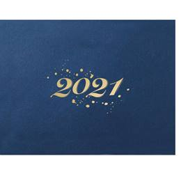 2021 Gold Foil Specialty Certificate Jackets