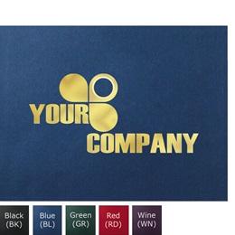 Custom Foil Logo Certificate Jackets