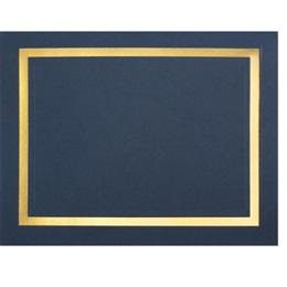 Pristine Gold Foil Certificate Jackets