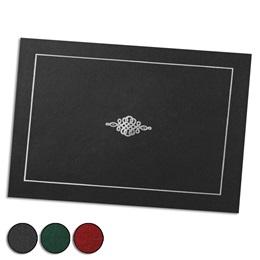 Crest Silver Foil MiniAward Jackets