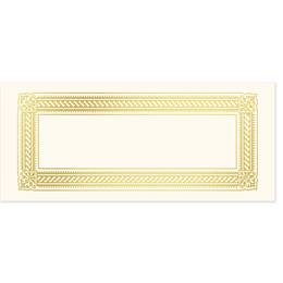 Elite Foil-Stamped Gift Certificate