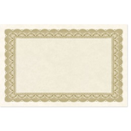 Gold Traditional Parchment MiniAward