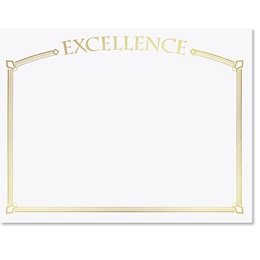 Excellence Specialty Certificates