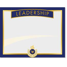 Leadership Certificates