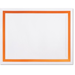 Orange Pristine Certificate