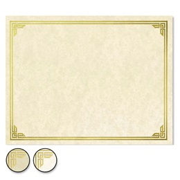 Classic Parchment Specialty Certificates