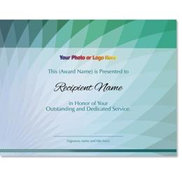Pavo Modern Certificates