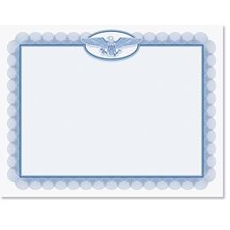 Medallion Eagle Standard Certificates
