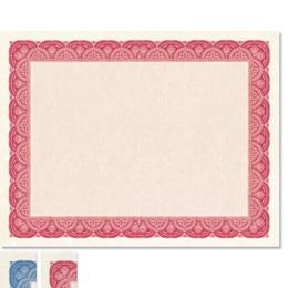 Stratton White Parchment Standard Certificates