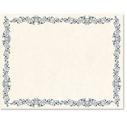 Intricate Scroll Standard Certificates