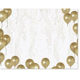 Gold Balloons Casual Certificates