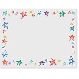 Festive Stars Casual Certificates