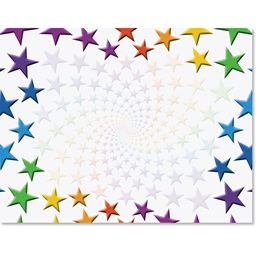 Stacked Stars Casual Certificates
