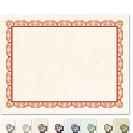 Impressions Standard Certificate