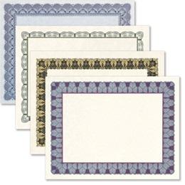 Certificate Variety Pack