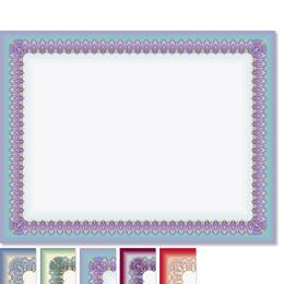 Sophisticate Standard Certificates