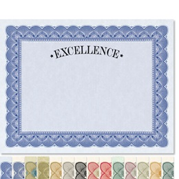 Excellence Traditional Certificates
