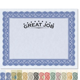 Great Job Traditional Certificates