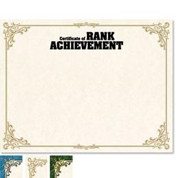 Achievement Orleans Certificates