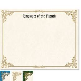 Employee of the Month Orleans Certificates