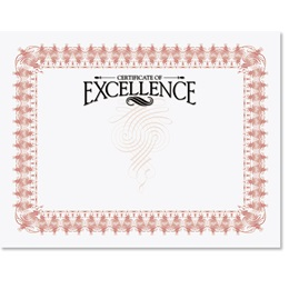 Certificate of Excellence Illustrious Certificates