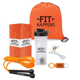 Fit Happens Gift Set