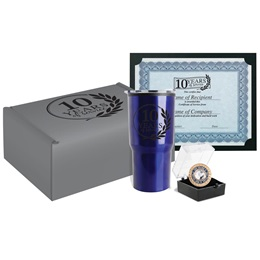 10-Year Service Recognition Gift Set