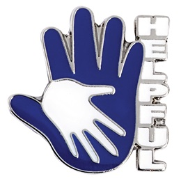 Helpful Hands Lapel Pin