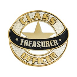 Treasurer Lapel Pins