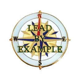 Lead By Example Lapel Pins