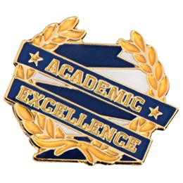 Academic Excellence Lapel Pins