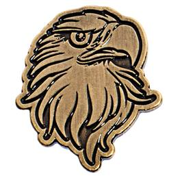 Gold Eagle Lapel Pins