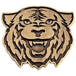 Gold Tiger Lapel Pins