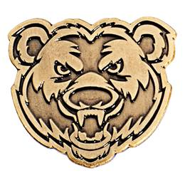 Gold Bear Lapel Pins