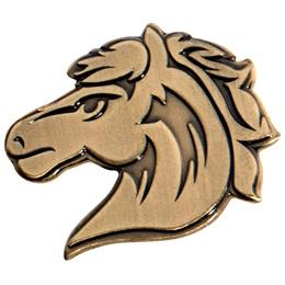 Gold Horse Lapel Pins