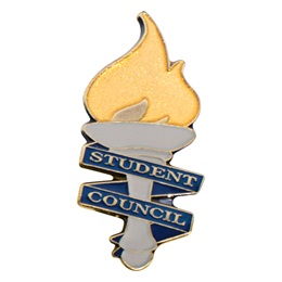 Student Council Torch Lapel Pins